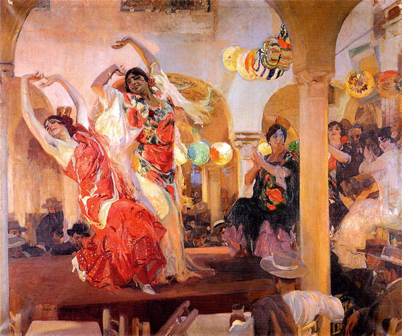 spanish-dancers