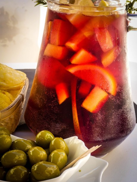 Bar Tapas Food Spain Sangria Spanish Olives